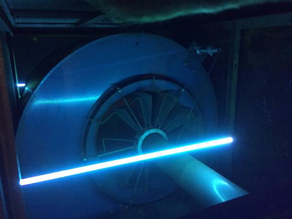 UV Lights on an HVAC Air Quality Greenville SC| Musty Odor Removal Greenville SC